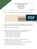 teste de MARÇO- 2 7.ºA