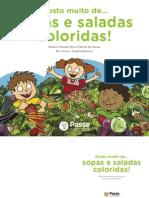 Alimenta Passe Sopas Saladas Coloridas