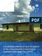 A situational analysis of selected aspects of the living standards of excluded Roma households in Slovakia