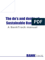 The Dos and Donts of Sustainable Banking Bt Manual