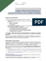 HN - Boite a Outils Pre-requis - Extrait Fiche Pratique 3 - PRA Du SI - Octobre 2012