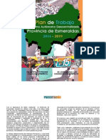 Plan de Gobierno Prefectura Lucía Sosa 2014 2017