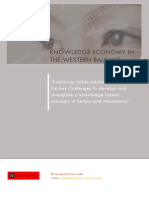Knowledge Economy in the Western Balkans