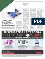 Prueba Timss sitúa a Chile entre los países con más bullying