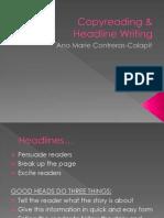 Copy reading & Headline writing - Copy (1).ppsx