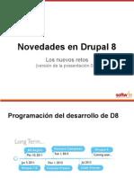 Novedades en Drupal 8