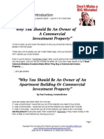 Why You Should Be an Owner of a Commercial Real Estate - Free Report