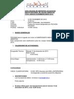 Nacional Aguas Abiertas FECHIDA. Clasificatorio ODESUR.