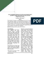 UPAYA MEMPERTAHANKAN STATIK DAN DINAMIK SHAFT ALIGMENT AKIBAT PENGARUH GETARAN SISTEM PERMESINAN KAPAL1 2004