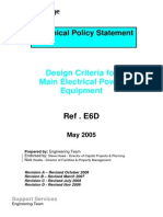 Technical Policy Statement