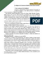 Contribuţia literaturii religioase la formarea limbii şi literaturii române