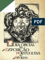 Guia oficial da Exposição Portuguesa em Sevilha