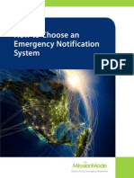 How to Choose an Emergency Notification System