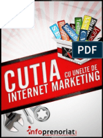 Cutia Cu Unelte de Internet Marketing Vali Rotaru