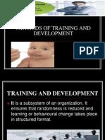 Methods of Training and Development 1234885872910404 3