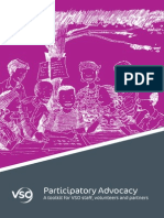 VSO 2012. Participatory Advocacy