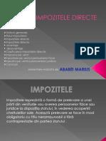 Impozitele Directe ppt