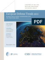 European Defense Trends 2012
