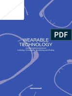Wearable Technology - Learning, Connecting, Monitoring and Posing
