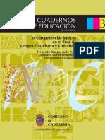 Cuaderno3-Las CCBB en el área de Lengua Castellana y Literatura
