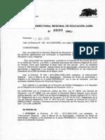Directiva N° 052-2013-DREJ - REGISTRO OBLIGATORIO EN PERÚ EDUCA
