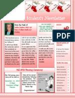 student newsletter december 2013
