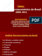 Analsis Macroeconomico de Brasil