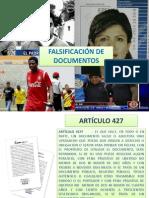 FALSIFICACIÓN DE DOCUMENTOS