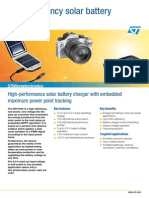 High-Efficiency Solar Battery Charger-flspv1040