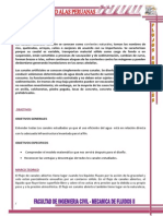 Informe de Mecanica de Fluidos II