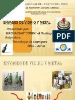 Envases de Vidrio y Metal
