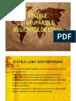 Lectia 1 - Statele Si Gruparile Regionale de State