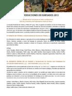 Gactilla Producciones 2013