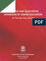 UGC 12 Five-Year Plan