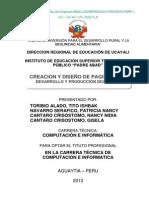 Proyecto Desarrollo Produccion Del Cacao