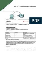 11.5.2 Administración de la configuración de dispositivos
