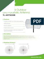 TL-ANT5830B V1 antenna Datasheet