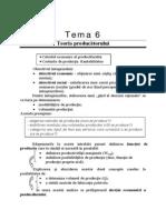 Tema 6. Teoria Producatorului