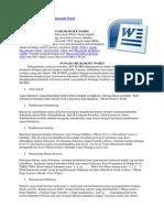 Pengertian Dan Sejarah Microsoft Word
