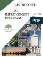 PRR 1410 Capital Improvement Program 12-2-13