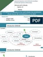 Modelisation Du Client Dans l'Environnent de l'Entreprise