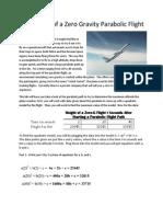 height of zero flight