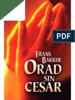 Bakker, Frans - Orad Sin Cesar