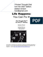 Pocket Thought Dial Sheets