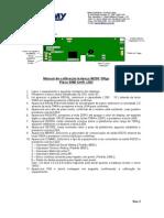 Manual de calibração W200 100gr SMD Unifi LED