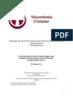 Mayordomia Cristiana