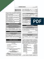 LEY Nº 30114 - Ley de Presupuesto del Sector Público para el Año Fiscal 2014