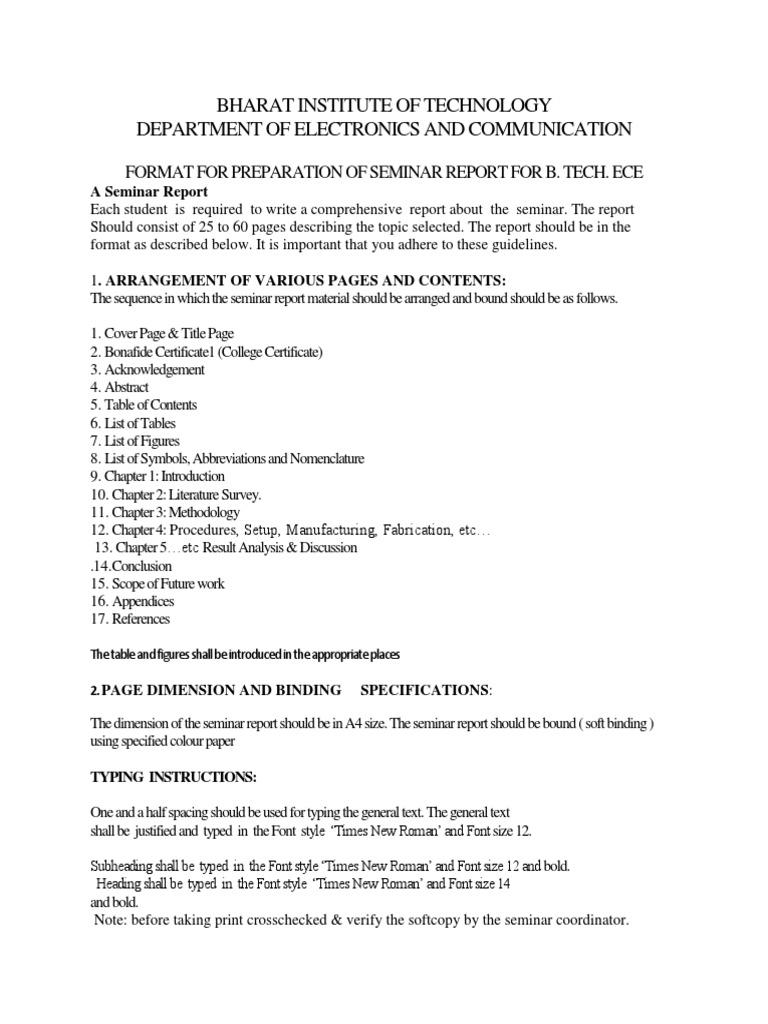 Certificate sample for seminar report choice image certificate certificate format for seminar image collections certificate yadclub Images