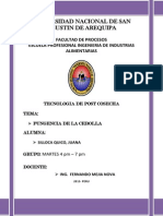 Post Cosecha Cebolla