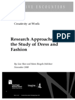 L. Skov, M. Riegels Melchior, 'Research Approaches to the Study of Dress and Fashion'